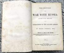 History of the War with Russia, 1855, Tyrrell 3 v.