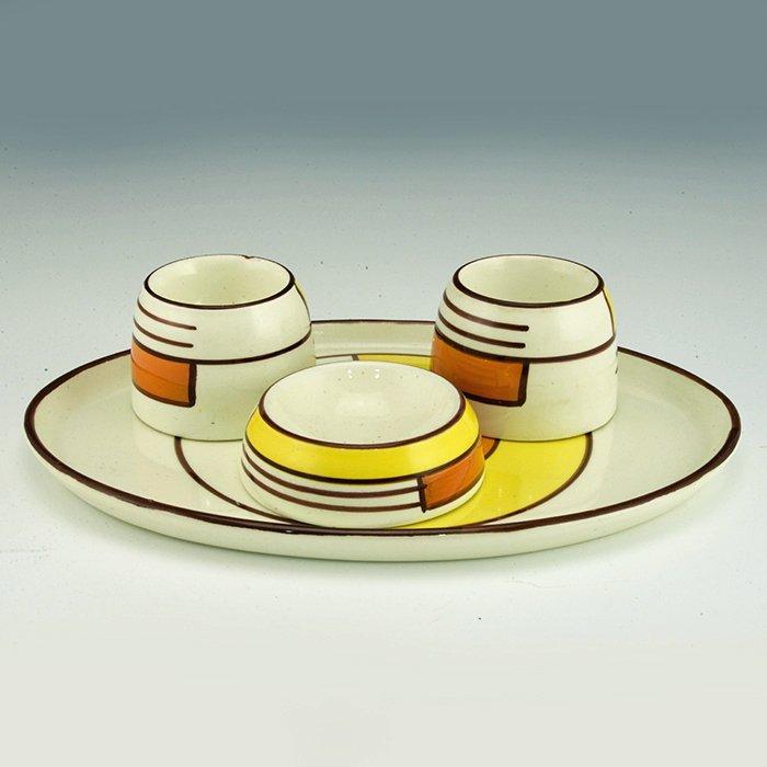 Eva Zeisel, a Schramberg Breakfast Set - 2