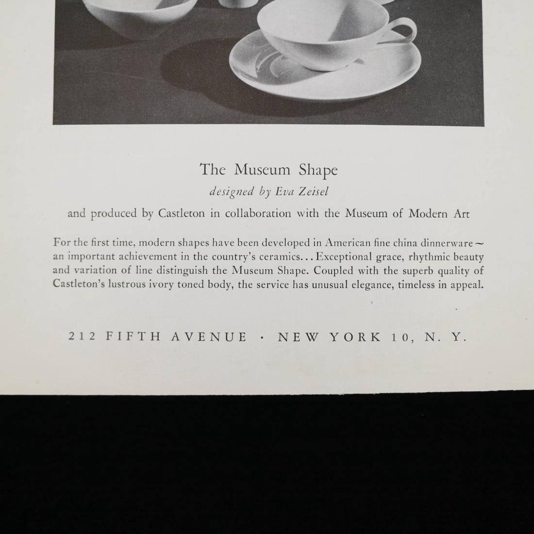 MOMA Bulletin and Ad for Museum Service - 2