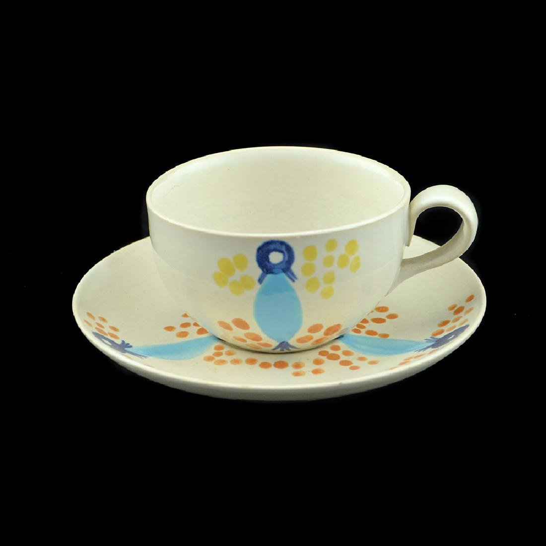 Eva Zeisel, Monmouth Pals Cup and Saucer