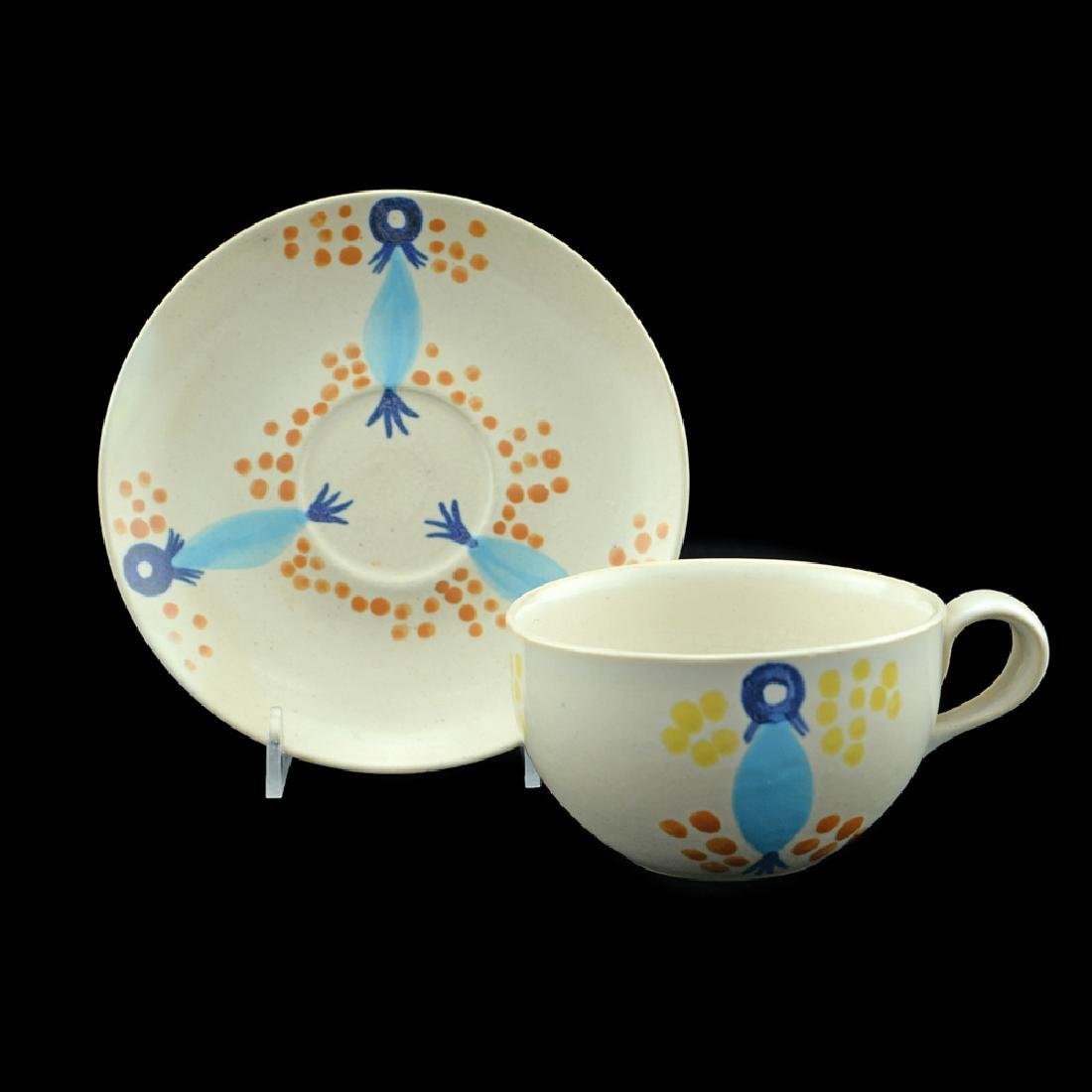 Eva Zeisel, Monmouth Pals Cup and Saucer - 2