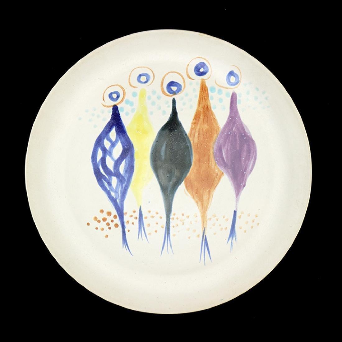 Eva Zeisel, Rare Pals Glaze & Design Test