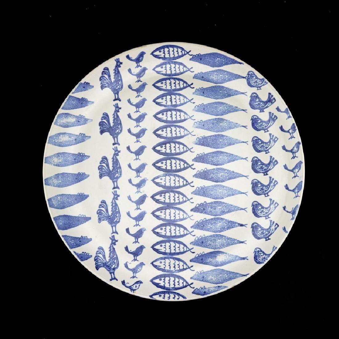 Eva Zeisel, Rare Monmouth Pattern Test Platter