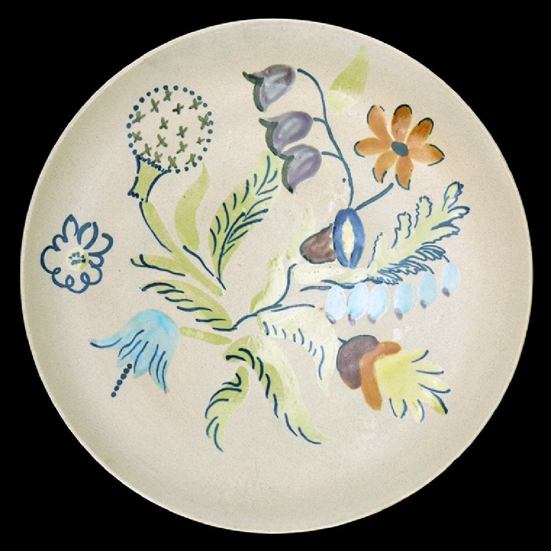 A Rare Monmouth Glaze Test Piece