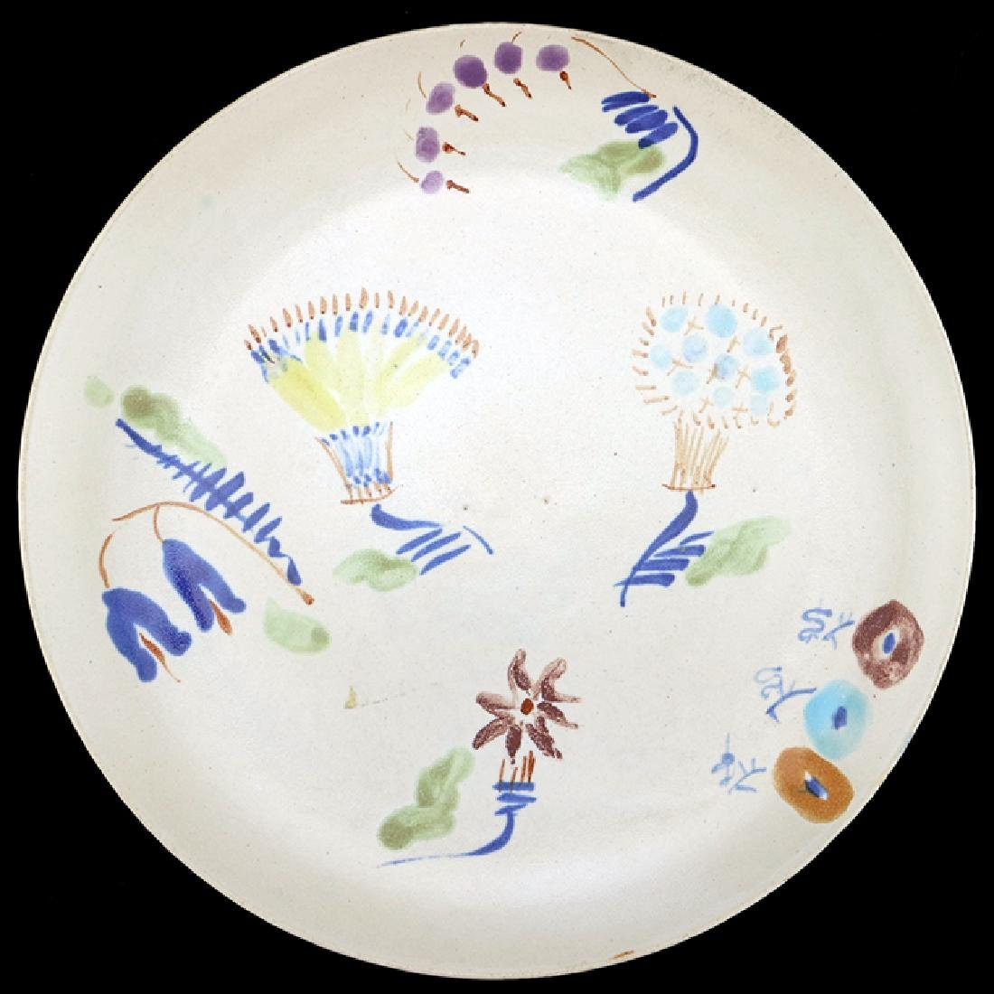 "Eva Zeisel, Rare Monmouth ""Zeisel Ware"" Plate"
