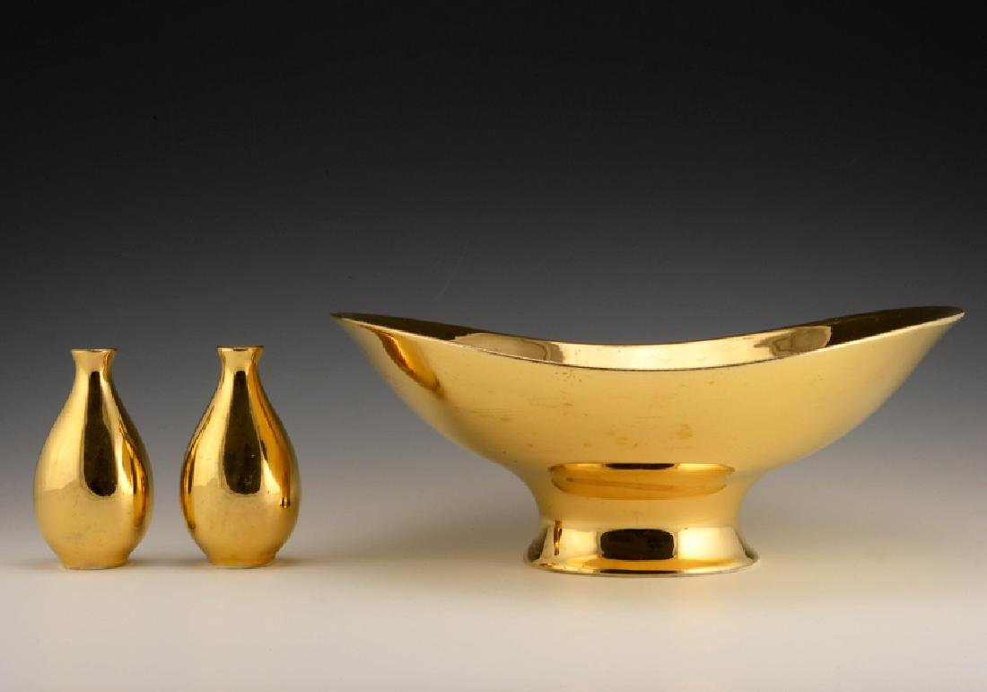 3 Zeisel Hallcraft Tomorrow's Classic Gold Items
