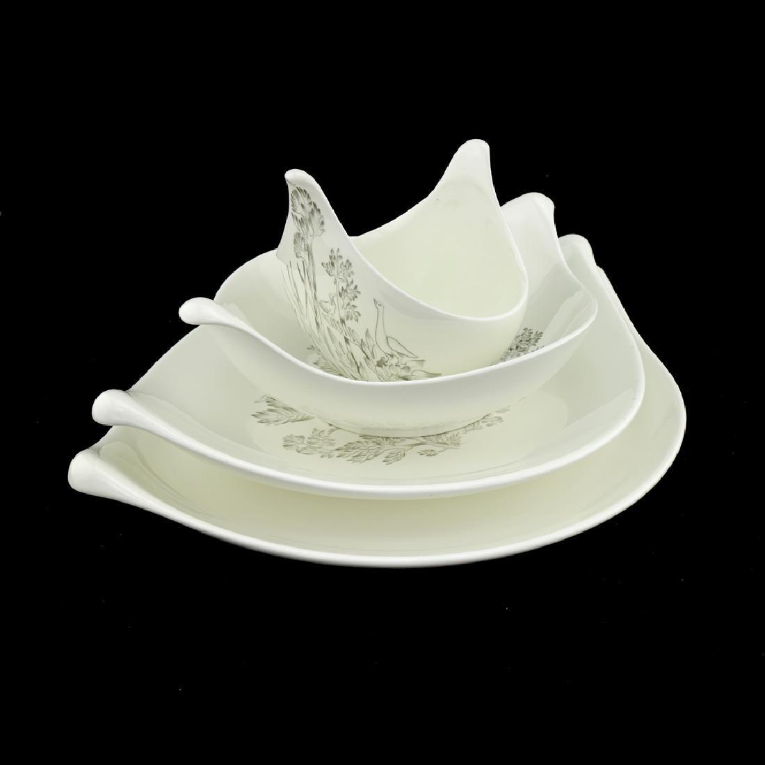 Zeisel Hallcraft Century Nesting Serving Bowls - 2