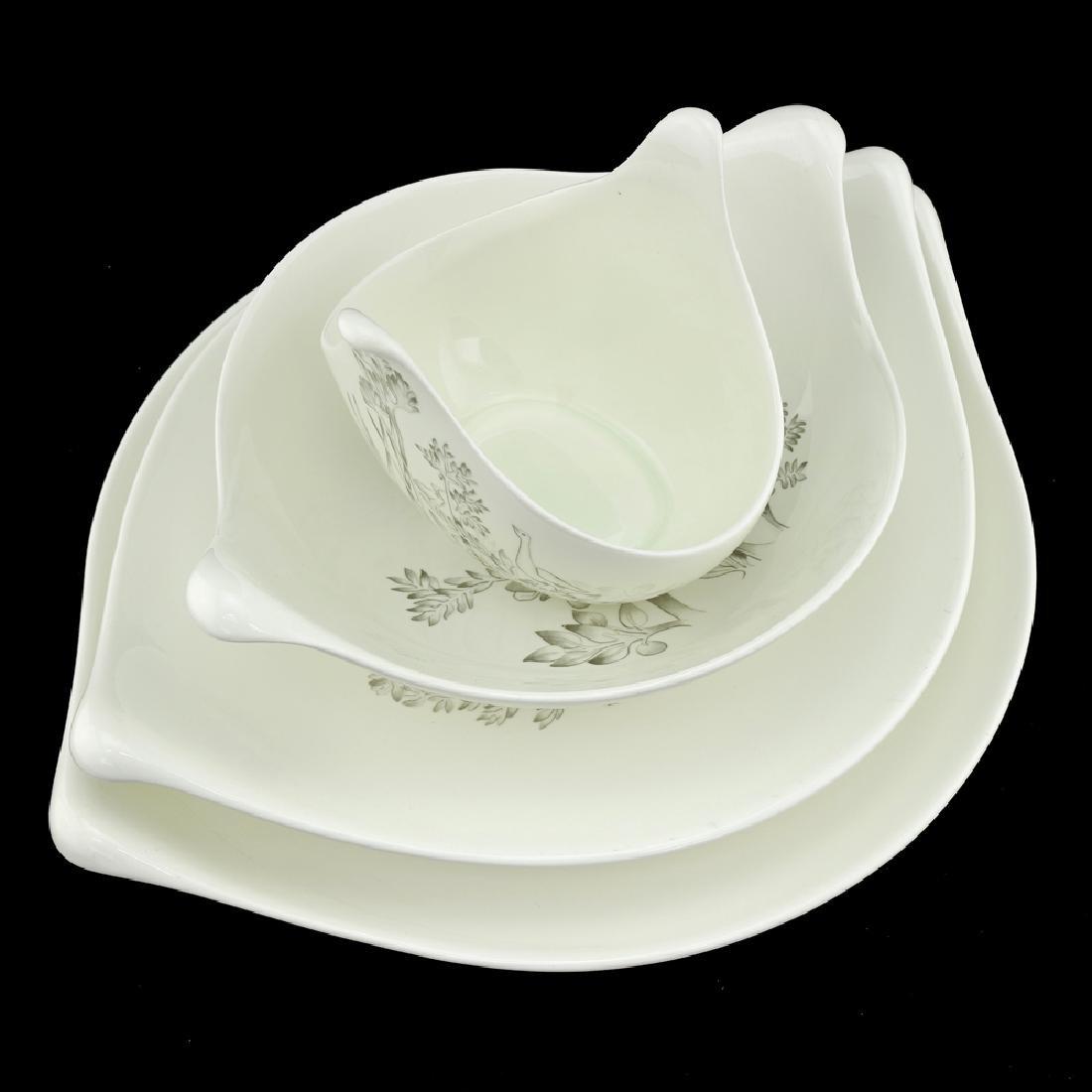 Zeisel Hallcraft Century Nesting Serving Bowls - 3