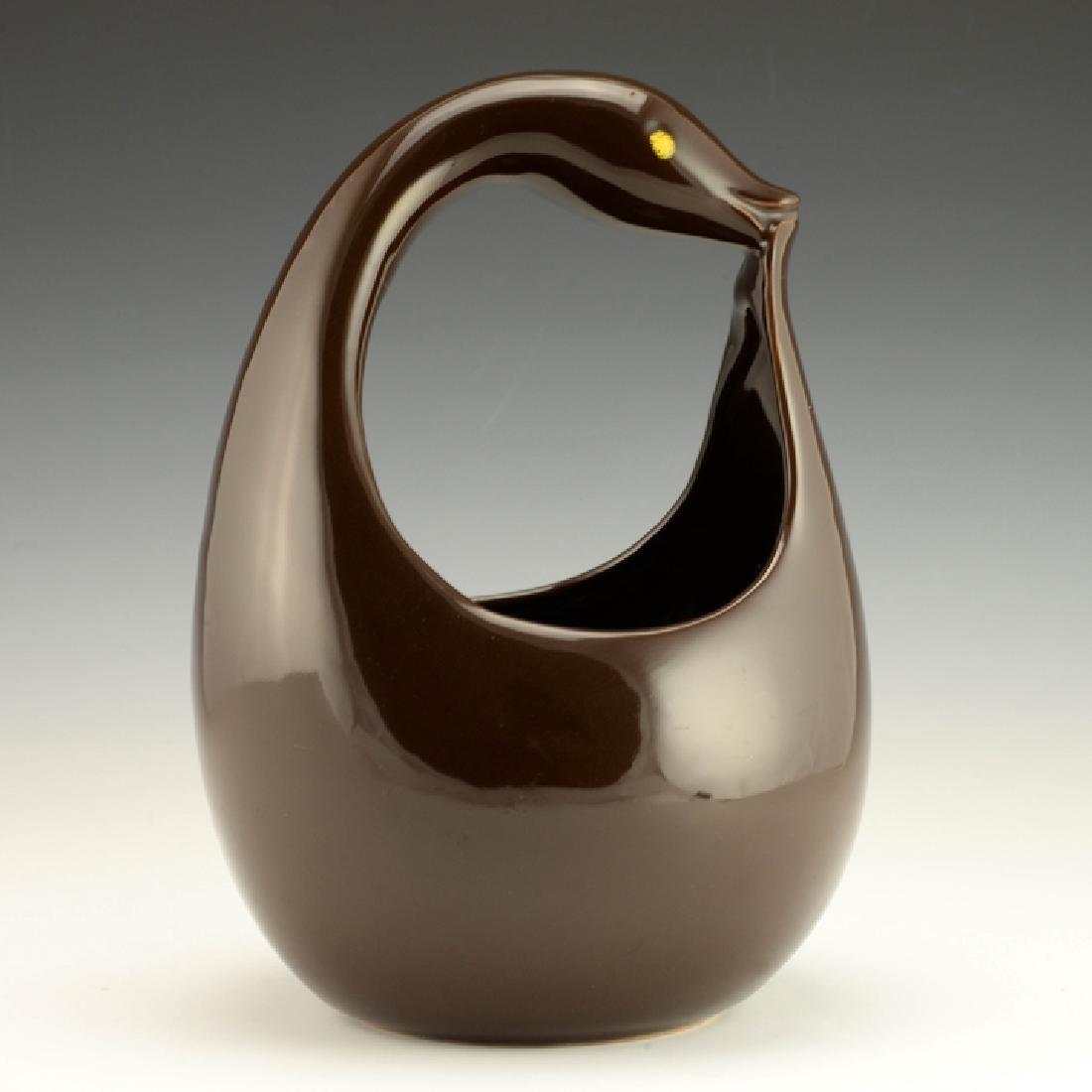Rare Zeisel Hollydale Bird-Form Basket