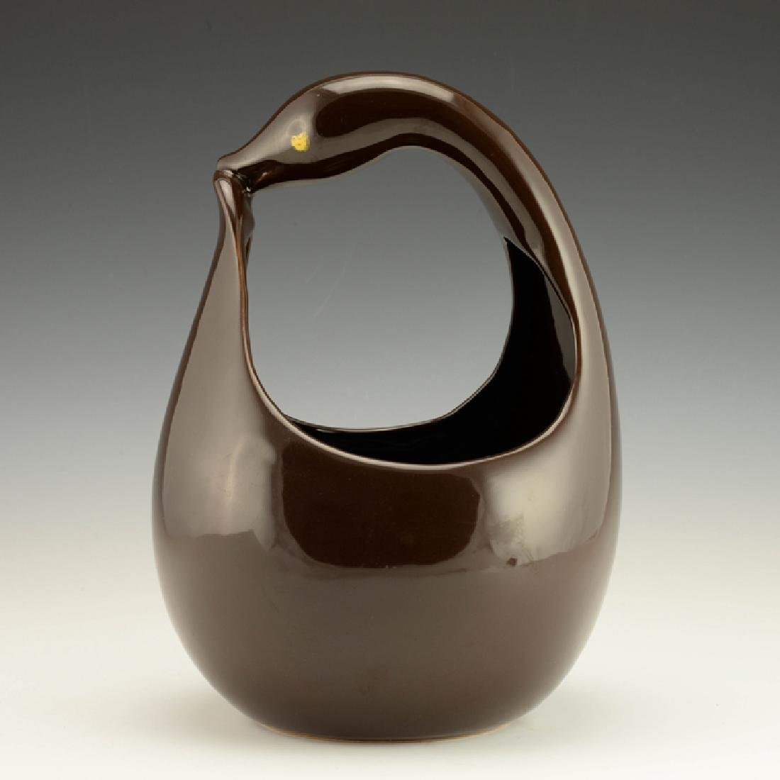 Rare Zeisel Hollydale Bird-Form Basket - 2
