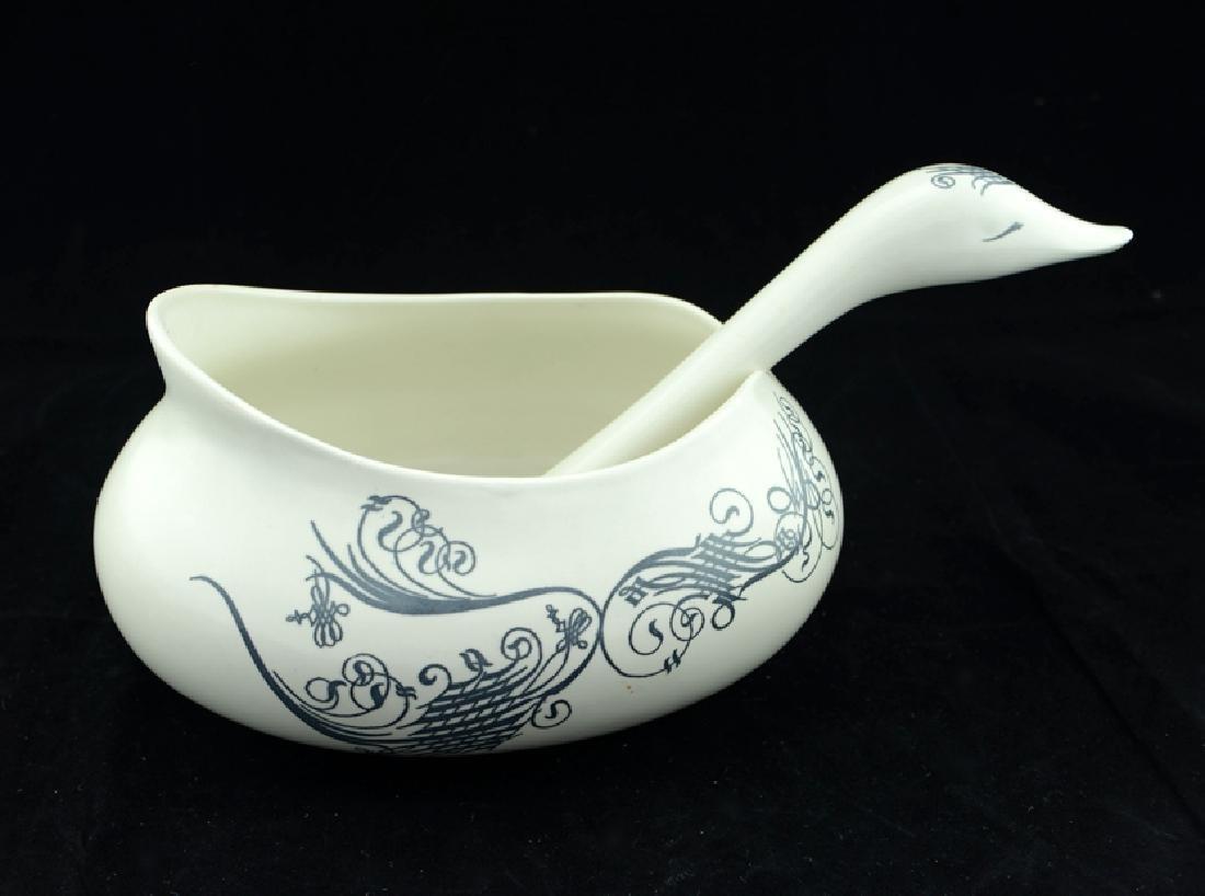 Zeisel Schmid Bird-Form Bowl & Ladle