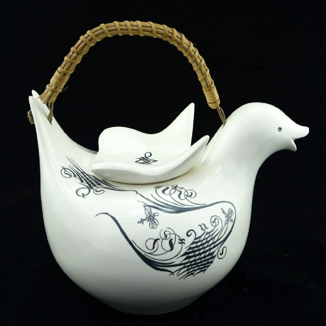 Zeisel Schmid Lyric Bird-Form Teapot