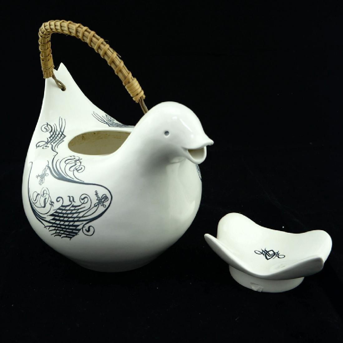 Zeisel Schmid Lyric Bird-Form Teapot - 2