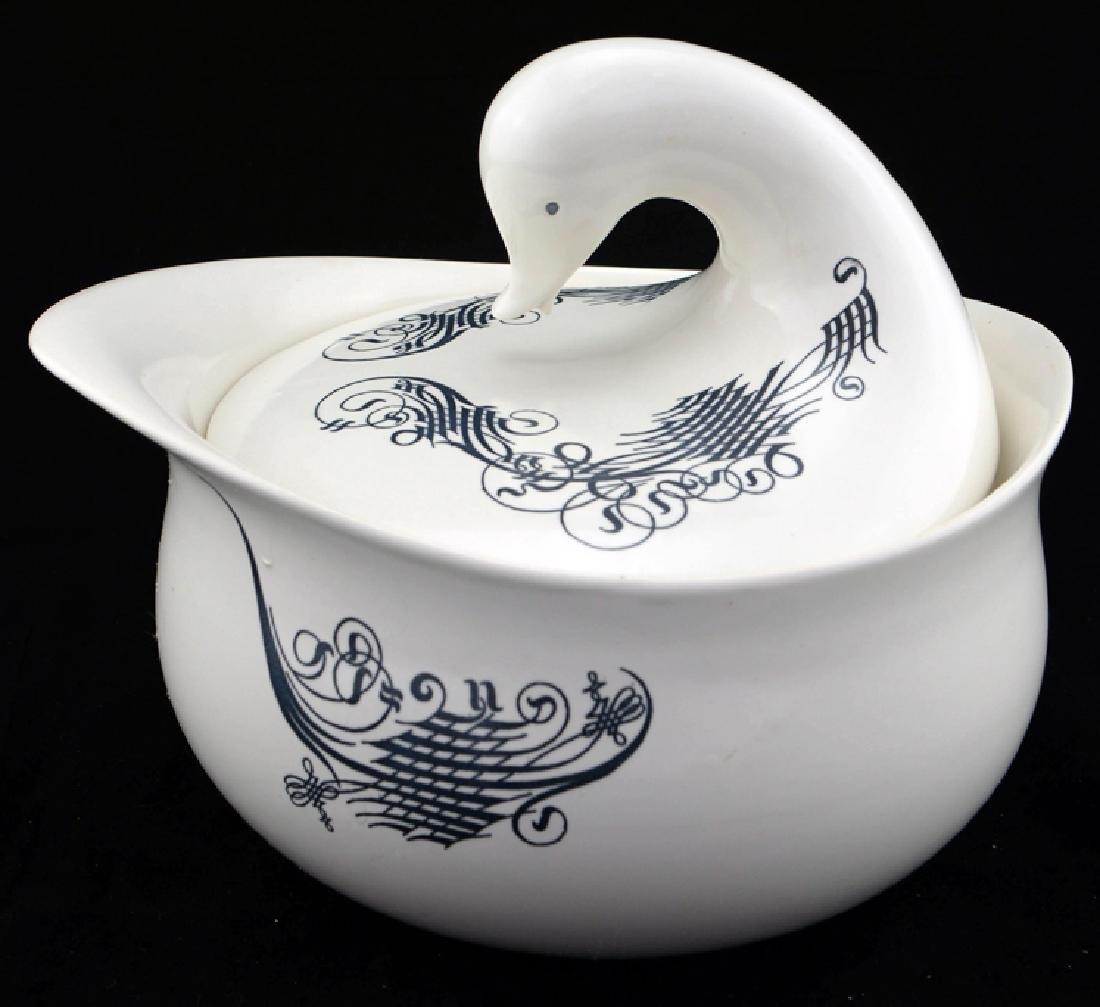 Zeisel Schmid Lyric Bird-Form Casserole