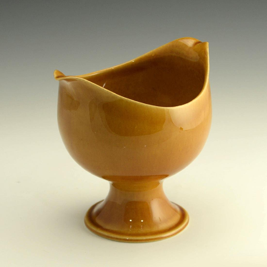 Rare Zeisel Hyalyn Gold Small Footed Bowl