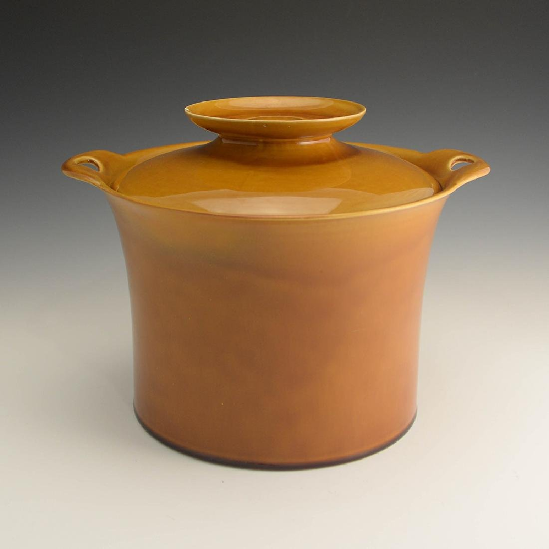Very Rare Zeisel Hyalyn Gold Ice Bucket