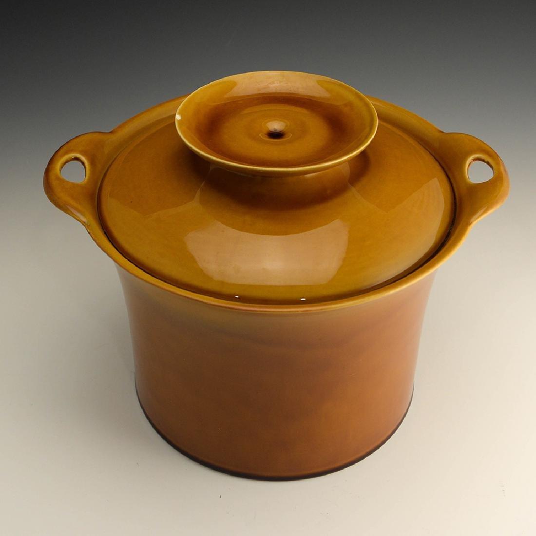 Very Rare Zeisel Hyalyn Gold Ice Bucket - 2