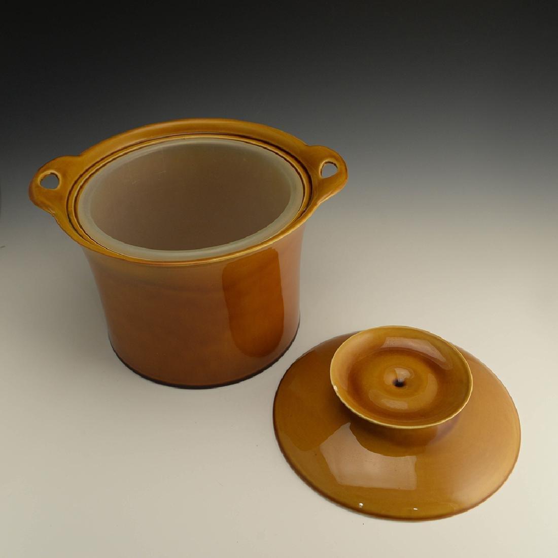 Very Rare Zeisel Hyalyn Gold Ice Bucket - 3