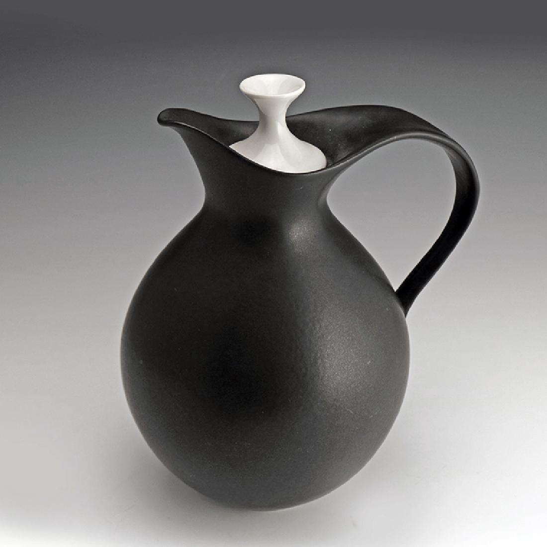 Very Rare Zeisel Hyalyn B&W Coffee Pot