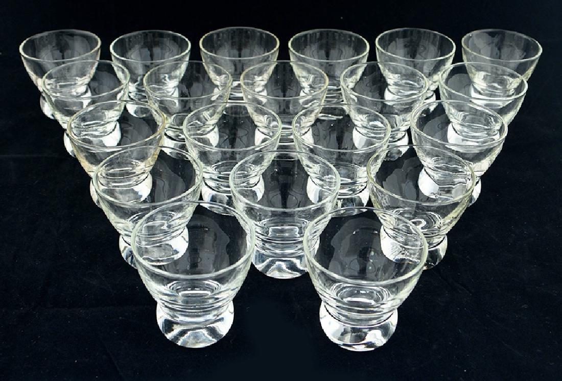 12 Zeisel Federal Glass Prestige Cocktail Glasses