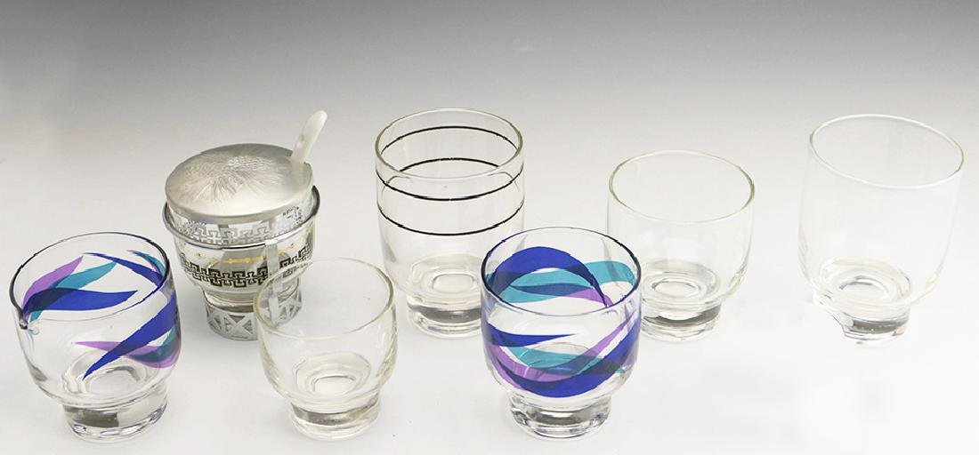 7 Zeisel Federal Glass Stockholm Items