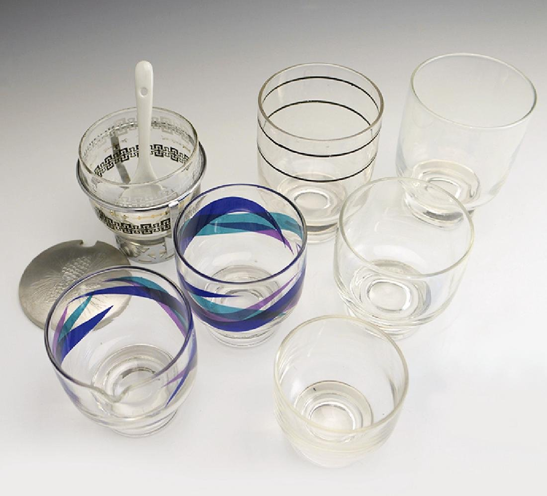 7 Zeisel Federal Glass Stockholm Items - 2