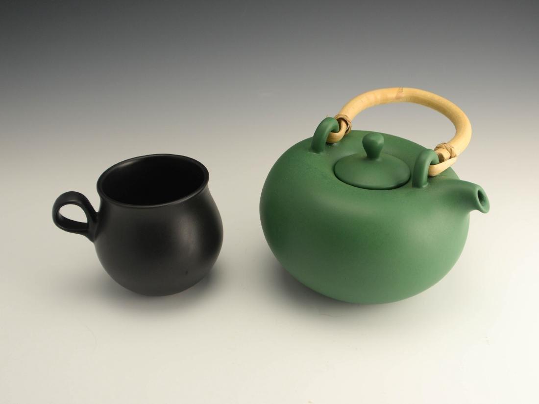 Zeisel OC Terracotta Teapot & Cup (1999) - 2