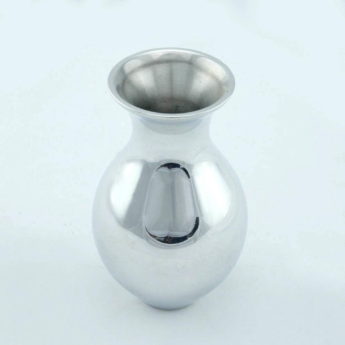Set of 3 Zeisel Nambe Bud Vases - 2