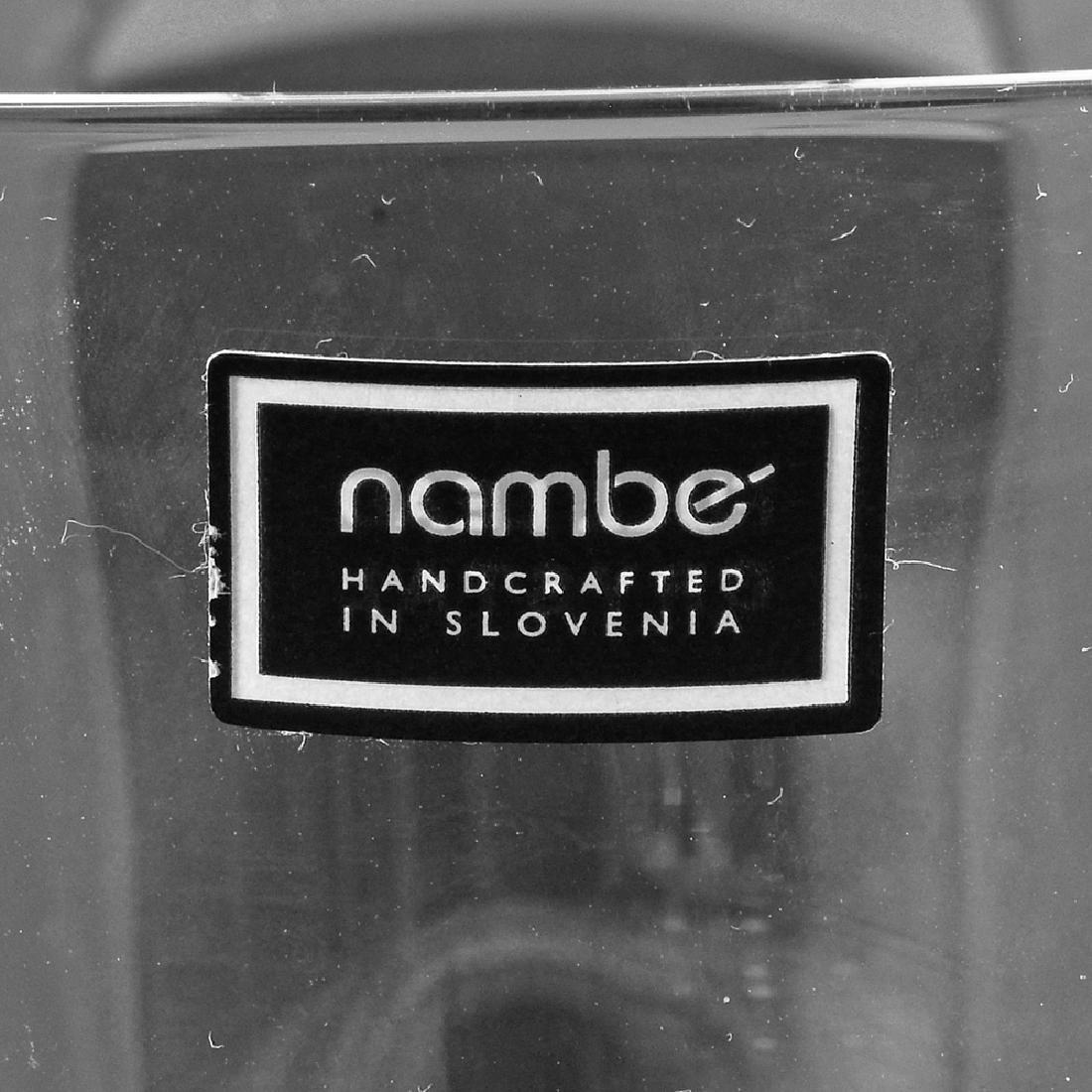 6 Zeisel Nambe Crystal Goblets, 3 sizes (2008) - 5
