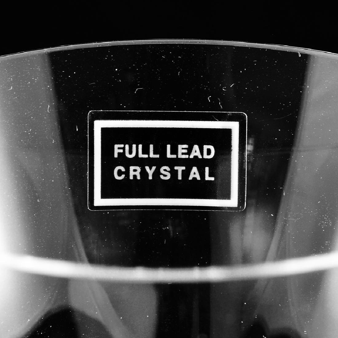 6 Zeisel Nambe Crystal Goblets, 3 sizes (2008) - 6