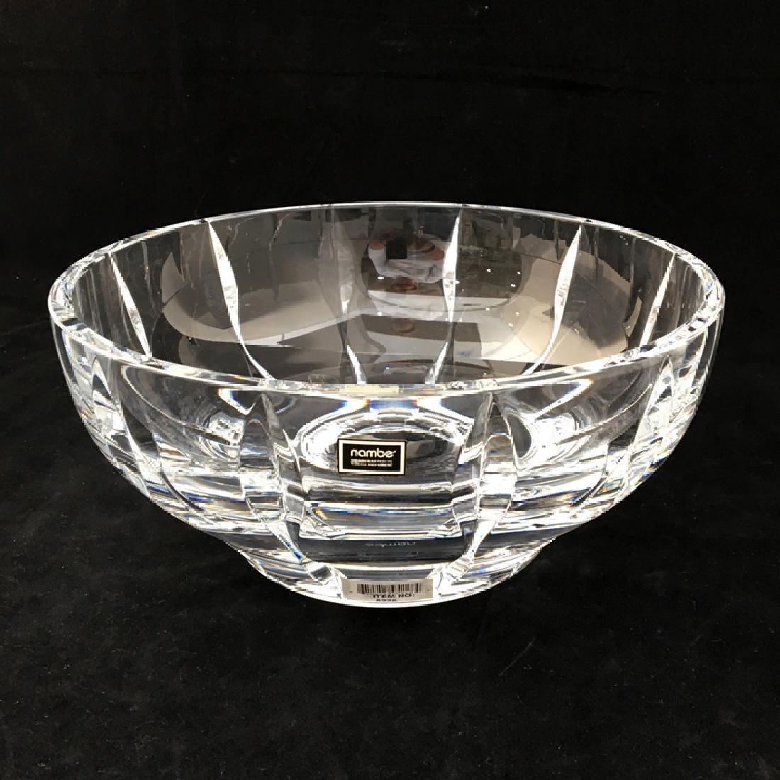 Zeisel Nambe Venus Lrg Crystal Bowl (2001)