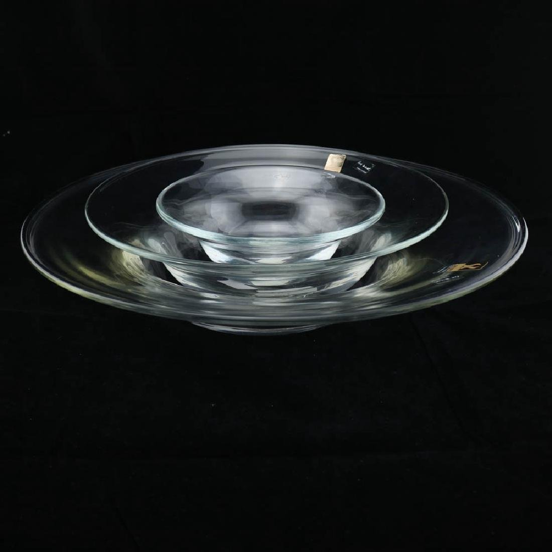 3 Zeisel Mglass Stacking Bowls