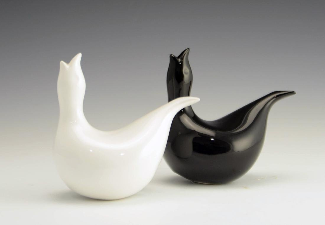 5 Zeisel EZO Bird-Form Shakers & Vase - 7