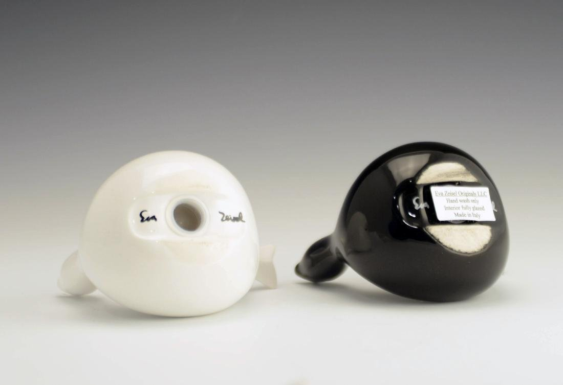 5 Zeisel EZO Bird-Form Shakers & Vase - 8