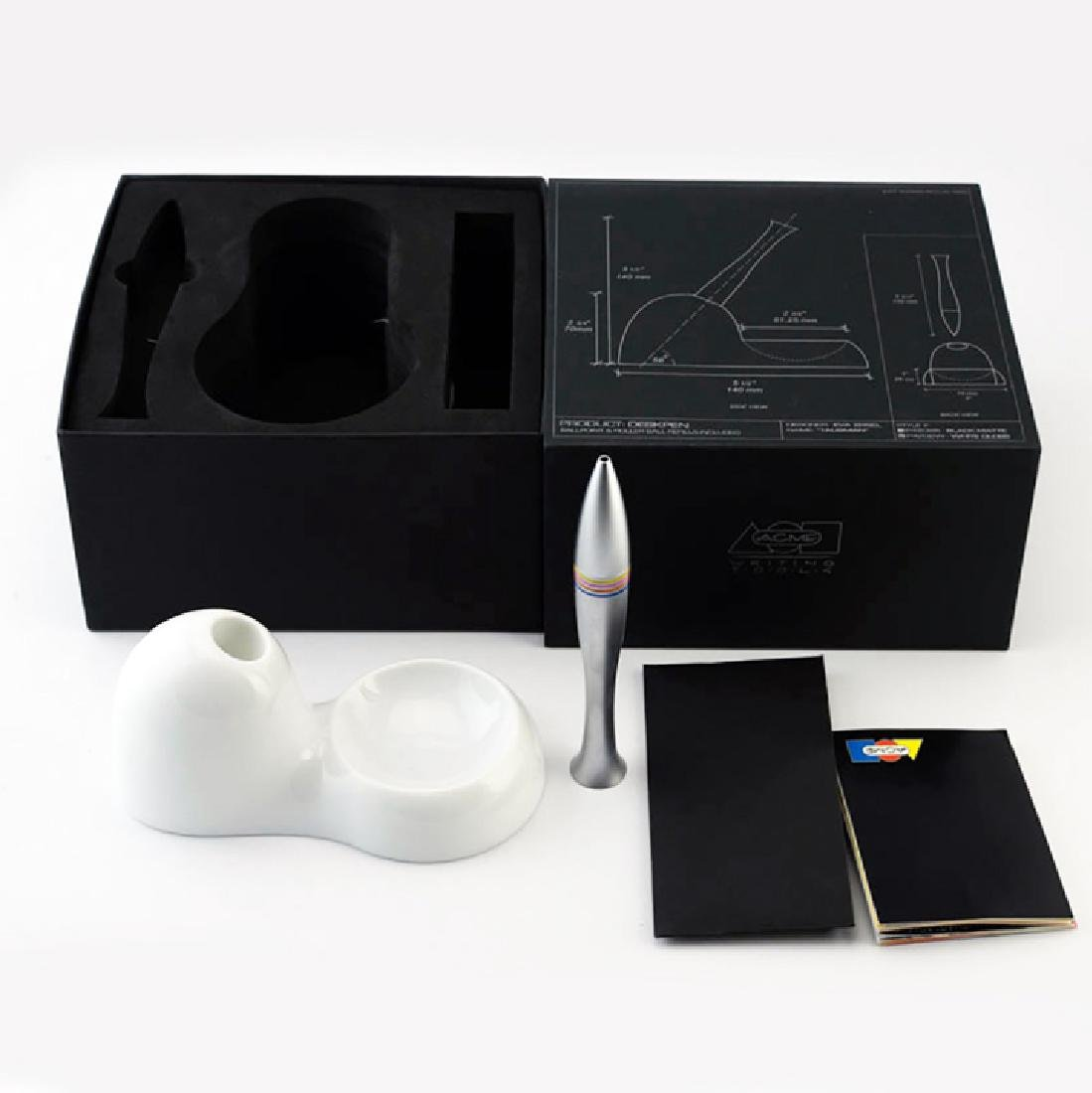 Zeisel Acme Talisman Desk Pen & Stand (2004) - 2