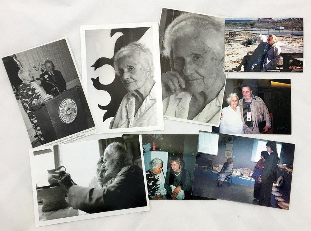 Group of Zeisel photos and ephemera - 2