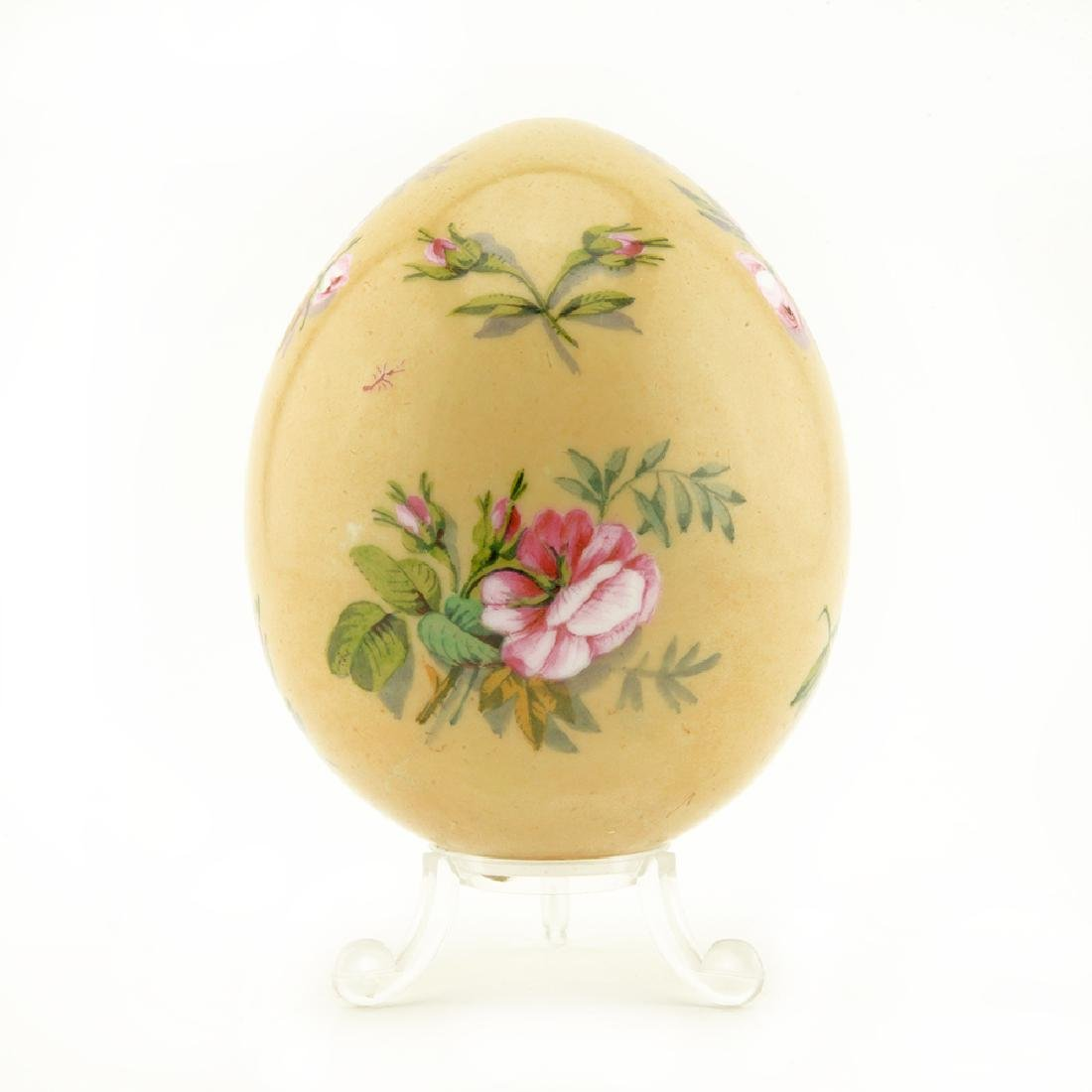 Russian antique porcelain Easter egg