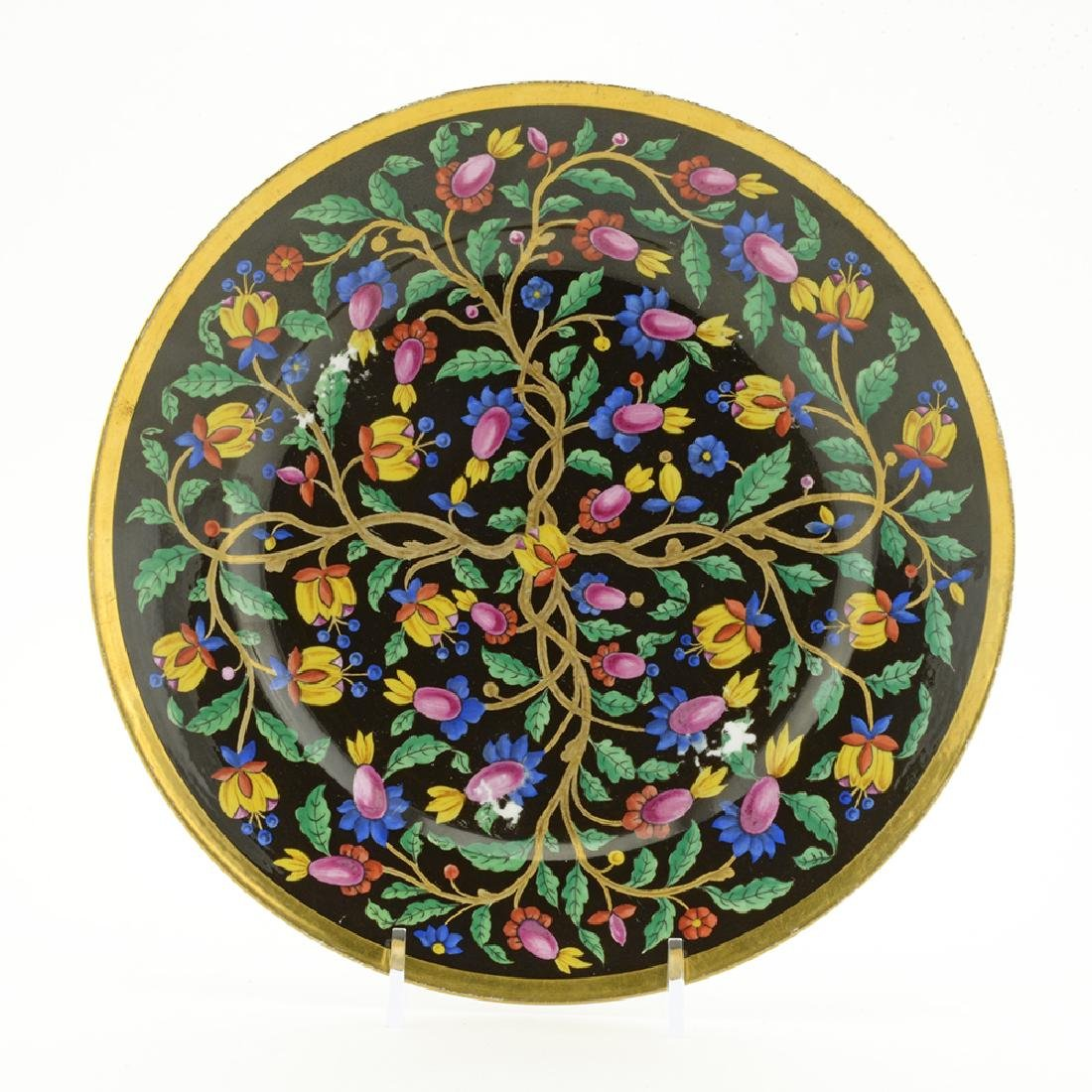 Russian Imperial porcelain dessert plate