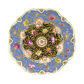 Russian Imperial Porcelain Factory Plate NI Period