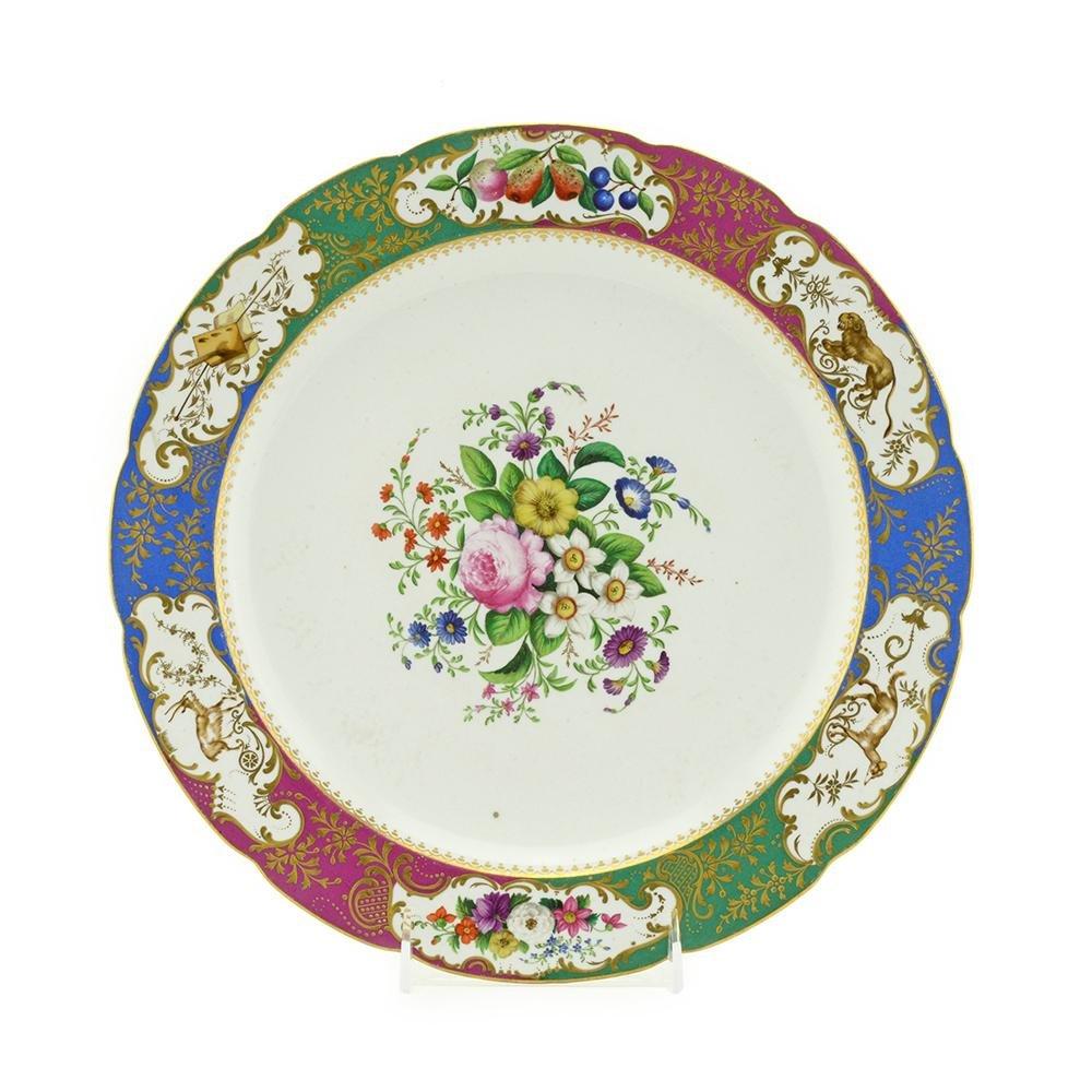 Banqueting Service of Grand Duke Pavlovich Platter