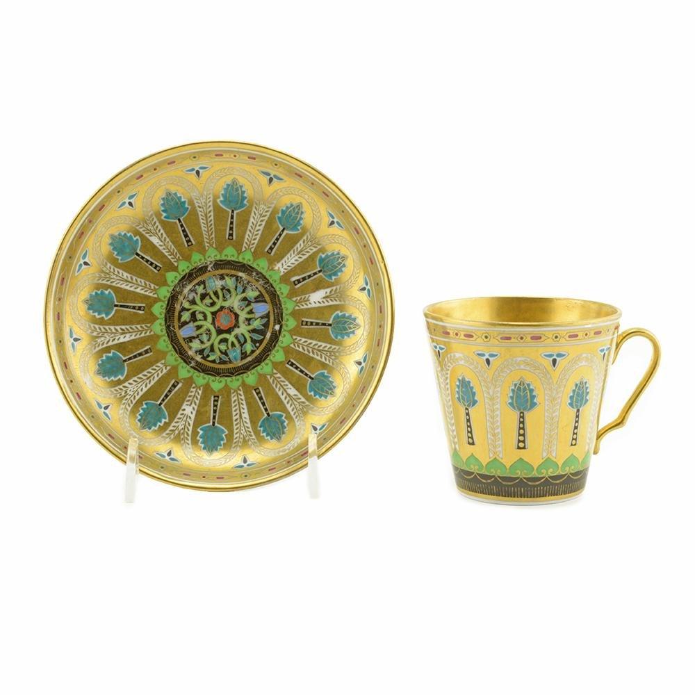 Kremlin Service porcelain cup and saucer