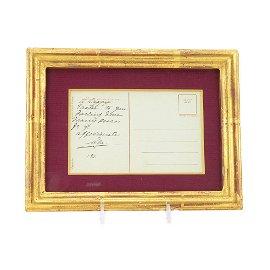 Grand Duchess Olga Nicholaevna Signed Postcard