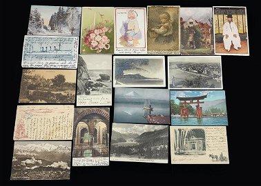 Nona Kerr Set of 18 Postcards