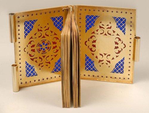 A Kuzmichev plique-à-jour enamel notebook, ca1890 - 3