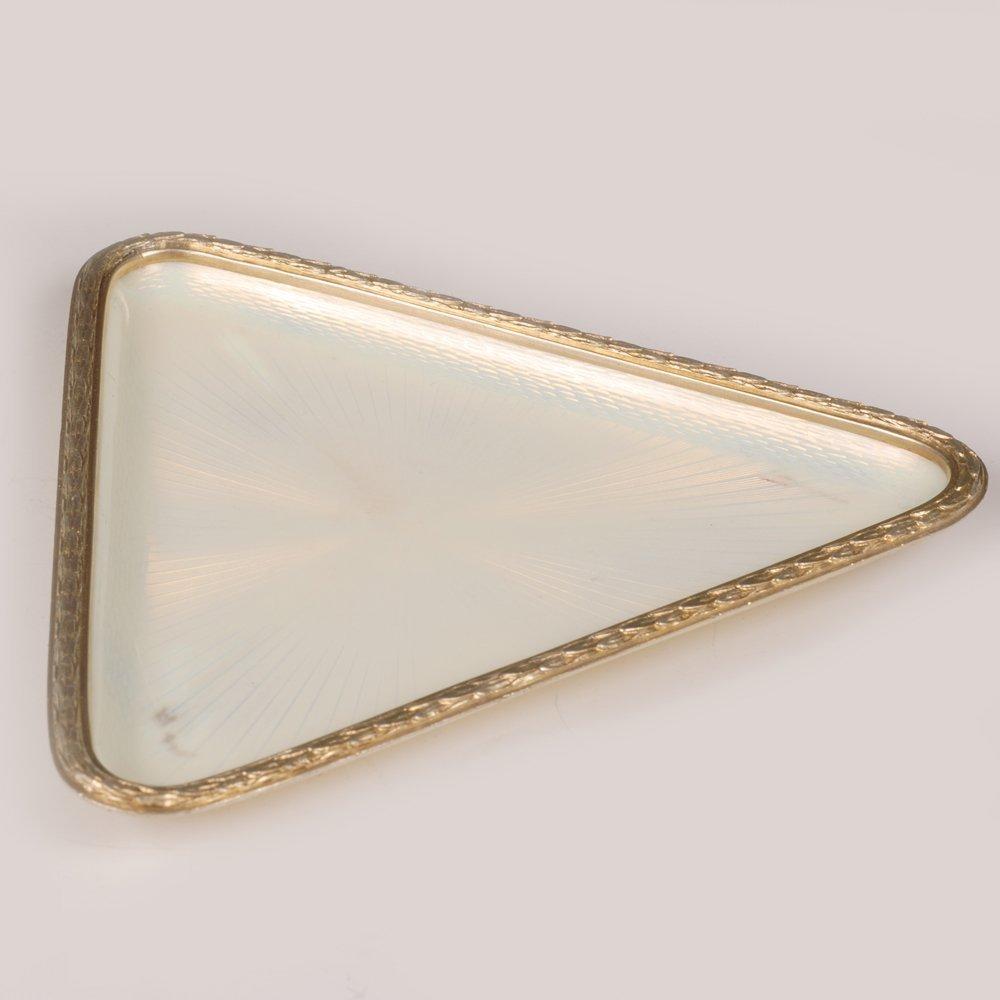 A Fabergé Armfeldt guilloché enamel tray, ca1908-17 - 2