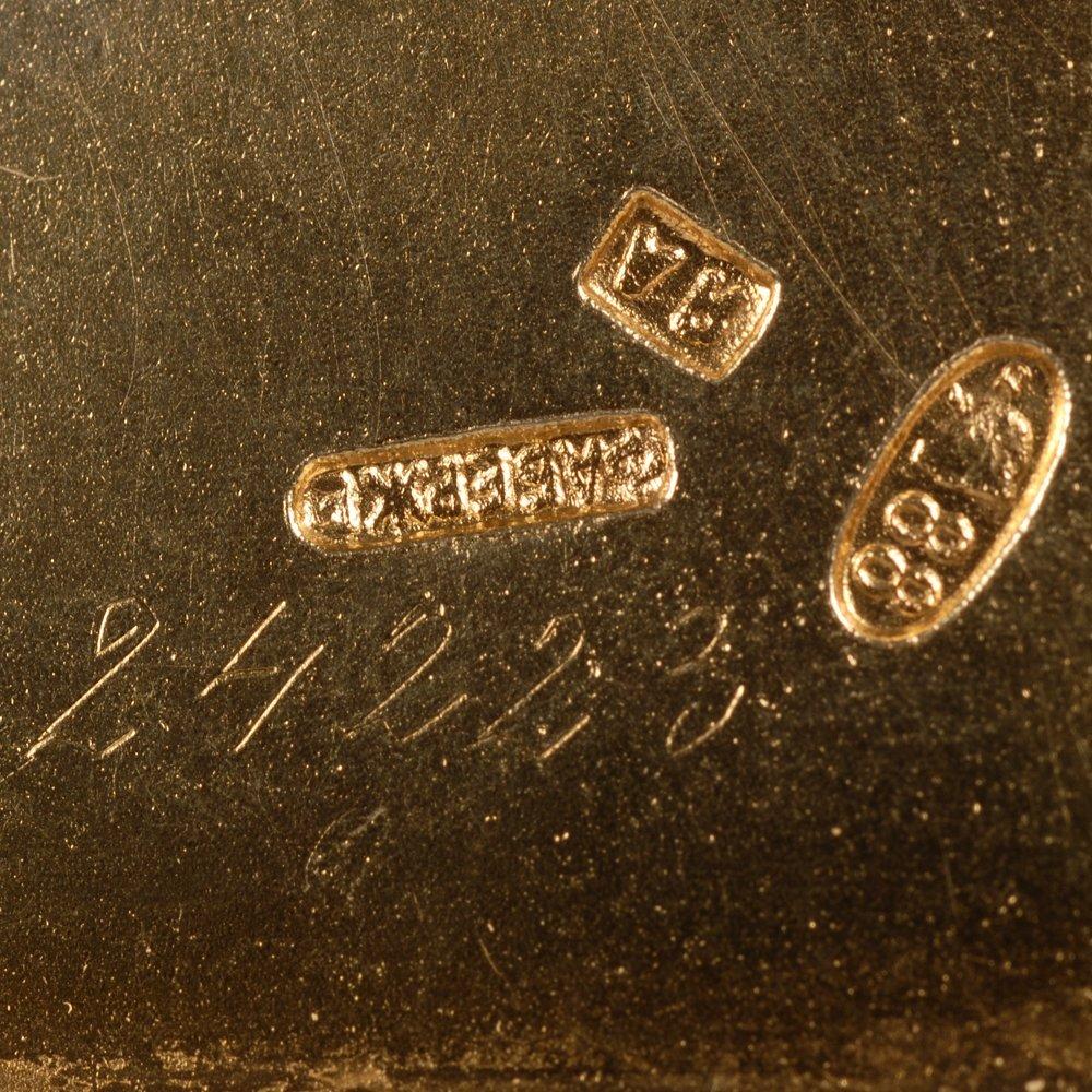 A Fabergé Armfeldt guilloché enamel tray, ca1908-17 - 3