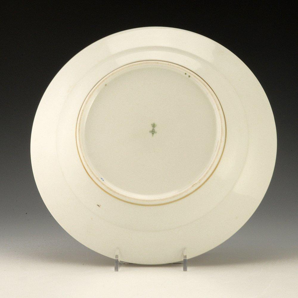 A Russian Imperial porcelain Ropsha Service soup plate - 2