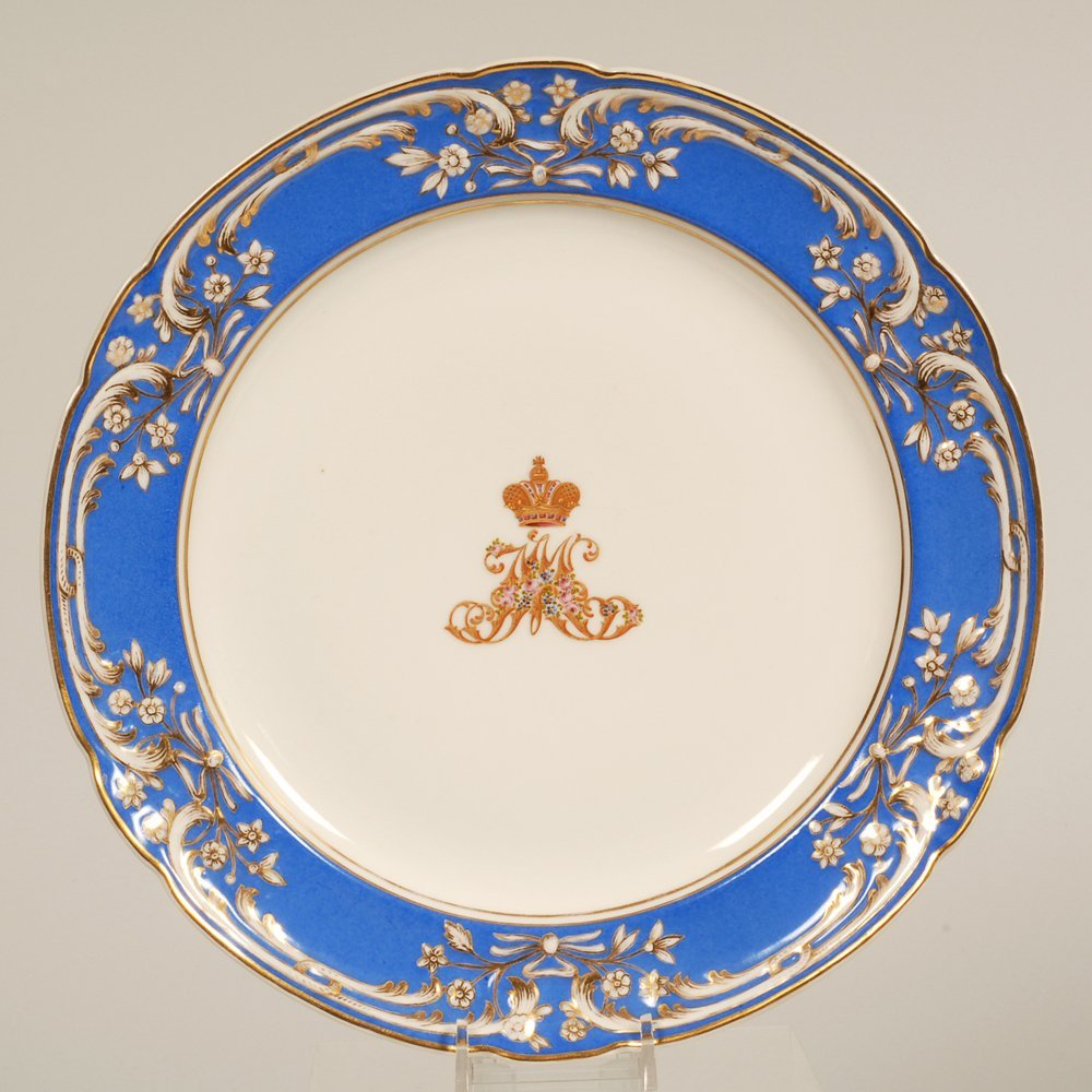 Imperial Porcelain His Majesty's Own Dacha Svc plate