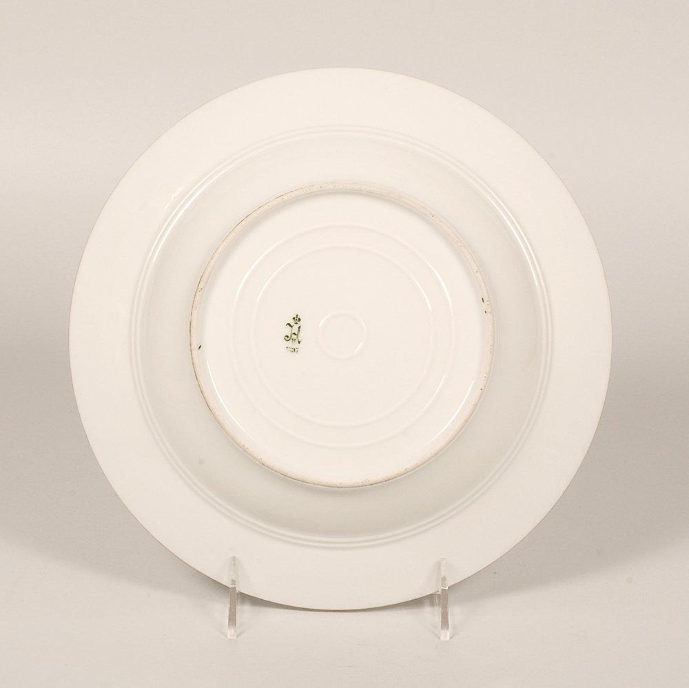 Grand Duchess Xenia Service porcelain soup plate, 1897 - 3