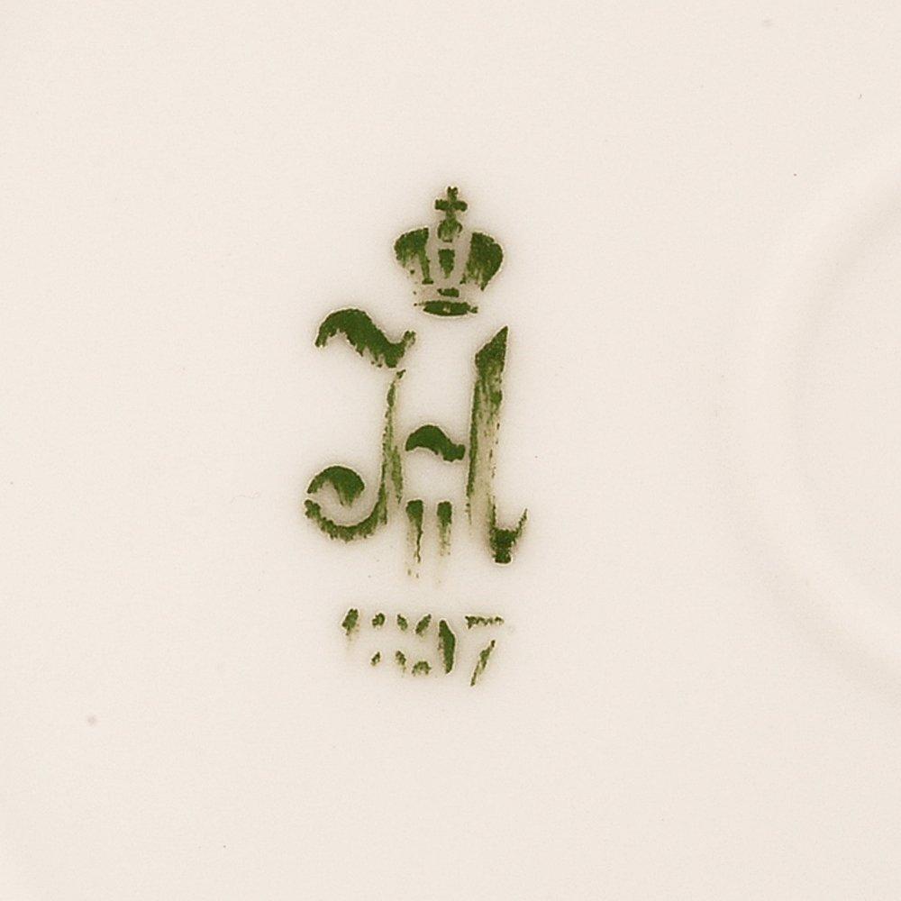 Grand Duchess Xenia Service porcelain soup plate, 1897 - 4